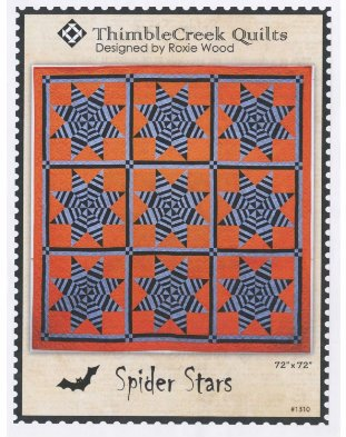 Spider Stars from ThimbleCreek Quilts