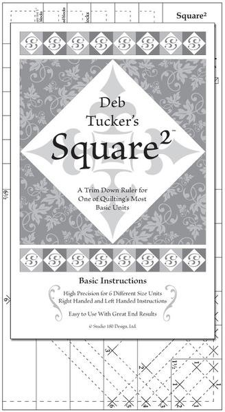 Square Squared from Deb Tucker's Studio 180 Design