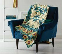 Starring Sunflowers Quilt Kit featured in Fons & Porter's Love of Quilting