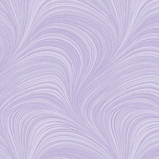 Wildflower Meadow Wave Texture in Purple from Benartex Fabrics
