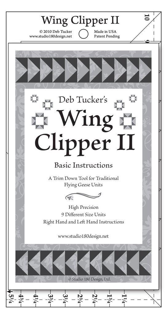 Wing Clipper 2 from Deb Tucker's Studio 180 Design