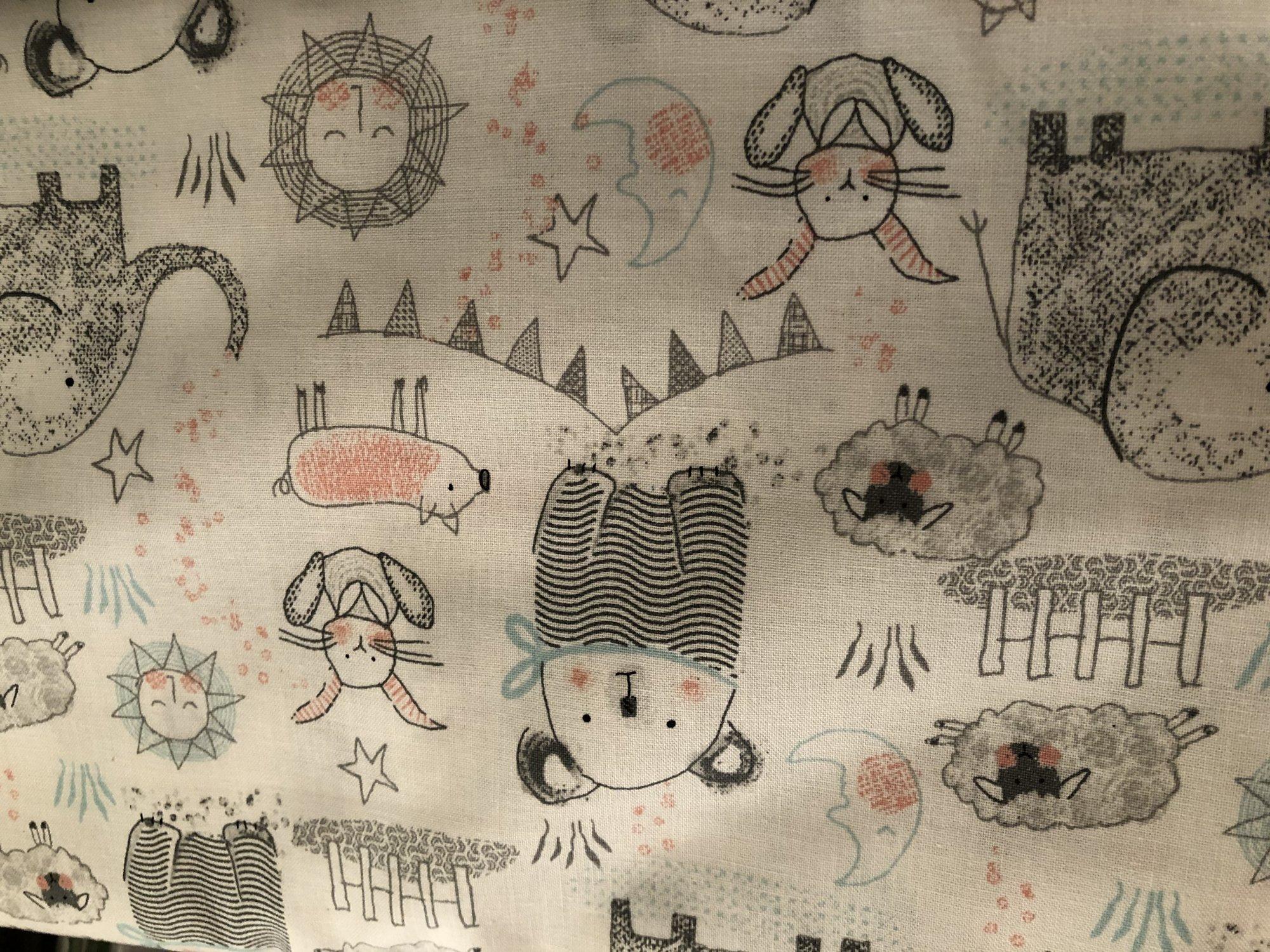 Children's Print on White 13984    NR