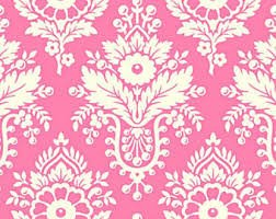 Free Spirit Heather Bailey Up Parasol Lulu Pwhb046 Bright Pink