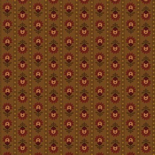 Folk Art Stripe Chestnut