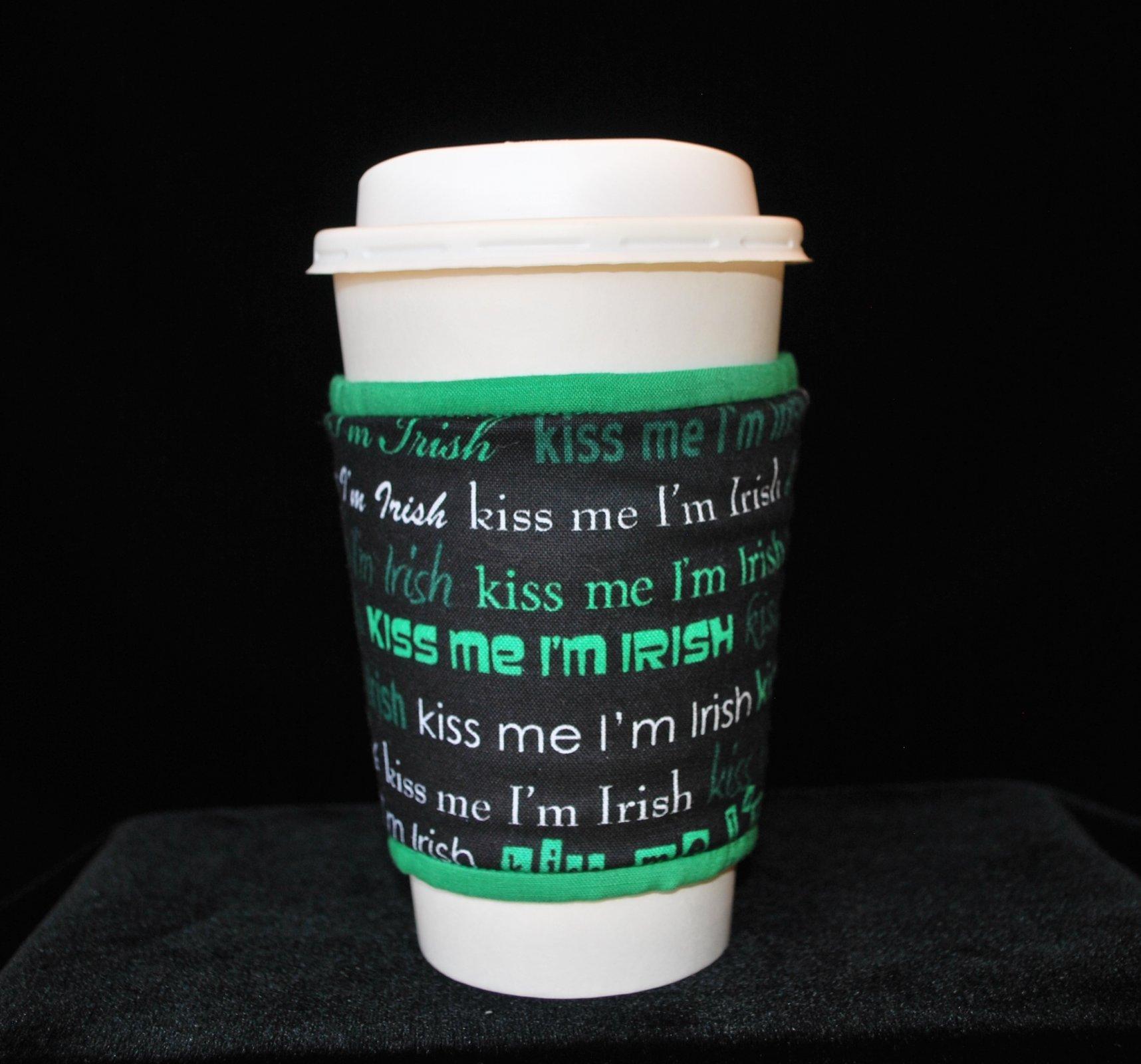 Kiss me I'm Irish!