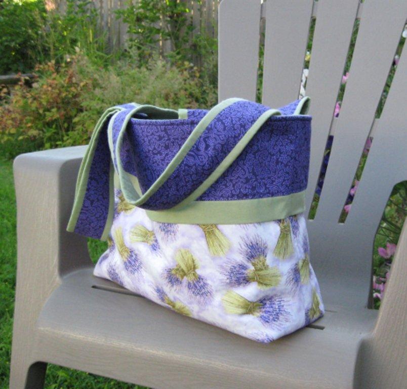 Large lavender bouquets