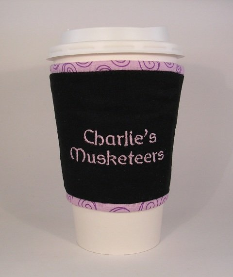 Cup Cozee - Special Order - Embroidered
