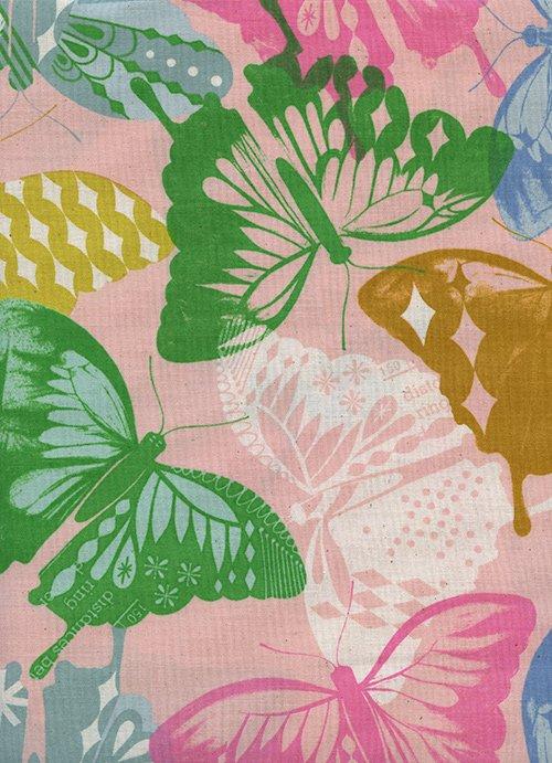 Flutter - Pink-1-YARD-CUT