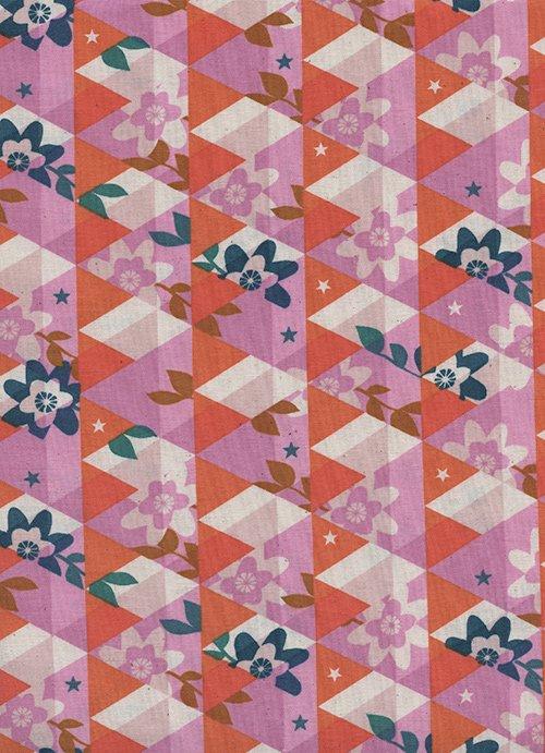 Flutter - Kaleidoscope - Orange
