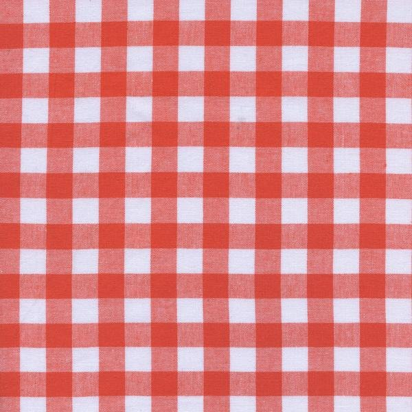 Checkers-1/2 Gingham-Coral