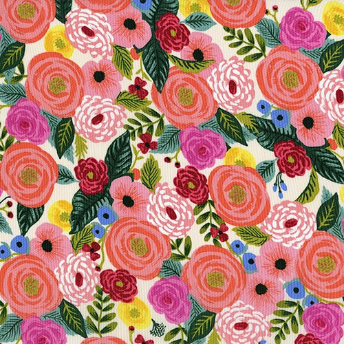 English Garden - Juliet Rose - Cream (Rayon)