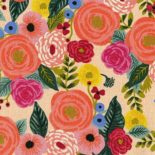 English Garden - Juliet Rose - Cream (Canvas)