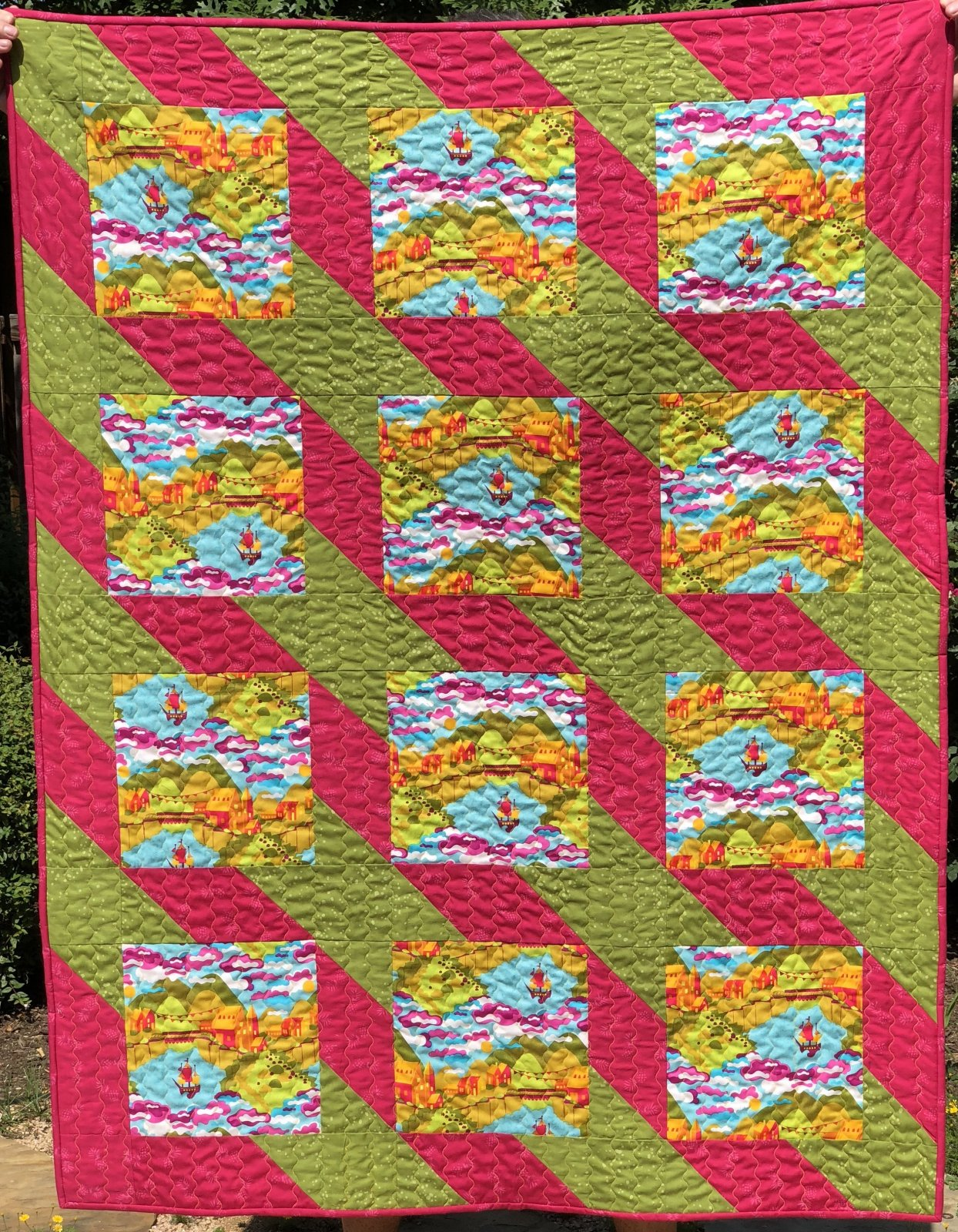 Paradise Quilt Kit (includes Binding; excludes backing)