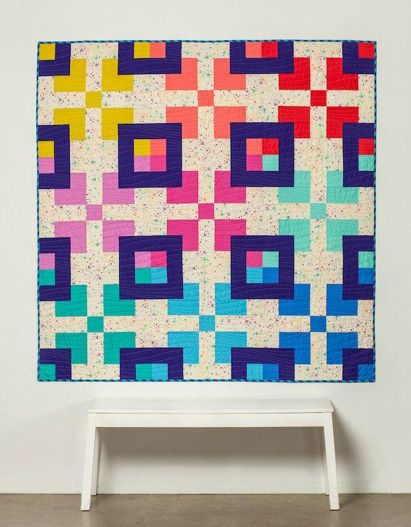 Pattern-Big Blocks Quilt