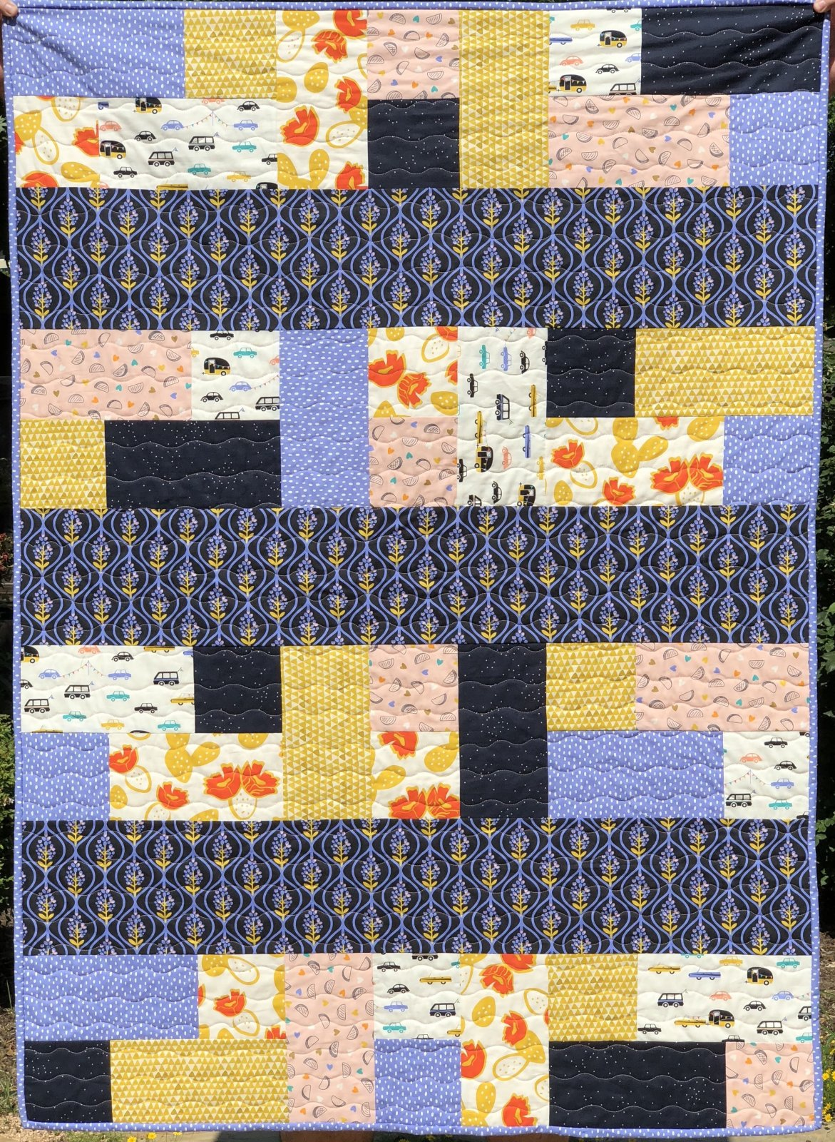 Bluebonnets Quilt Kit (includes Binding; excludes Backing)