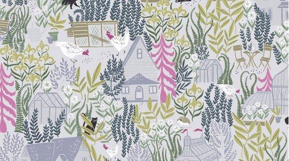Garden Sanctuary-Vapor