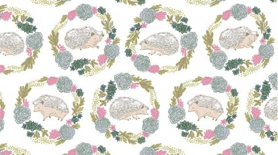 Garden Sanctuary-Hedgehog-White-1-YARD-CUT