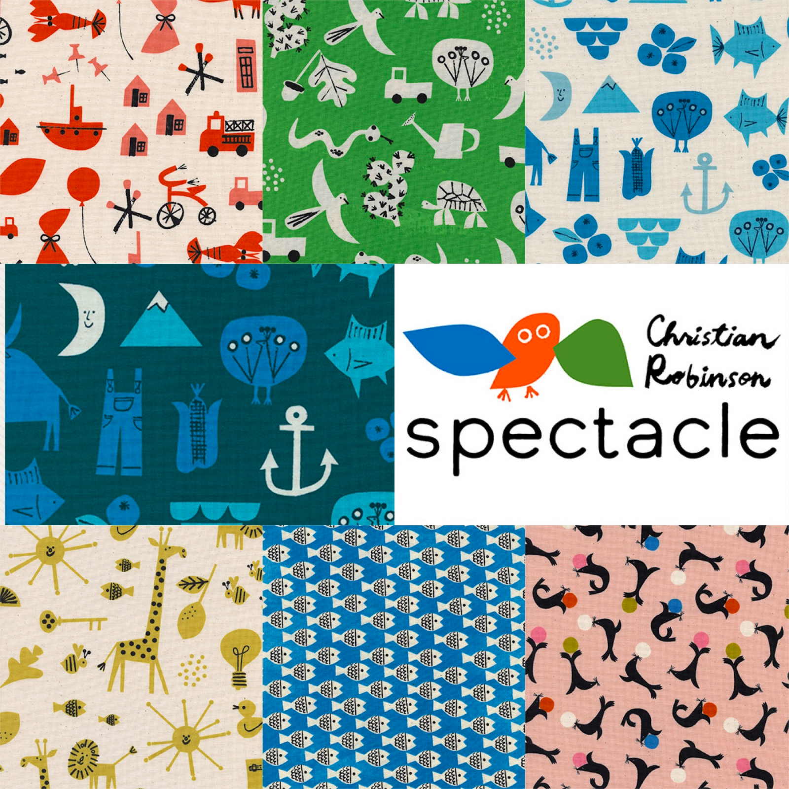 Spectacle Fat Quarter Bundle