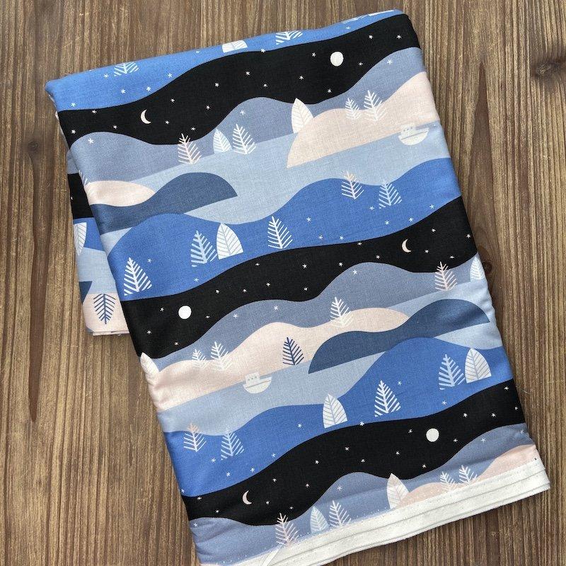 Moonlit Voyage Quilt Kit - Backing #1