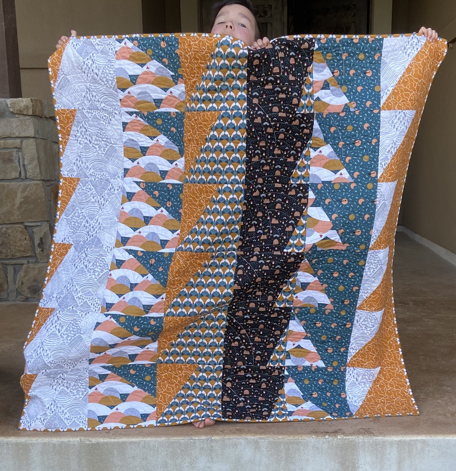 Over the Hills Quilt Kit
