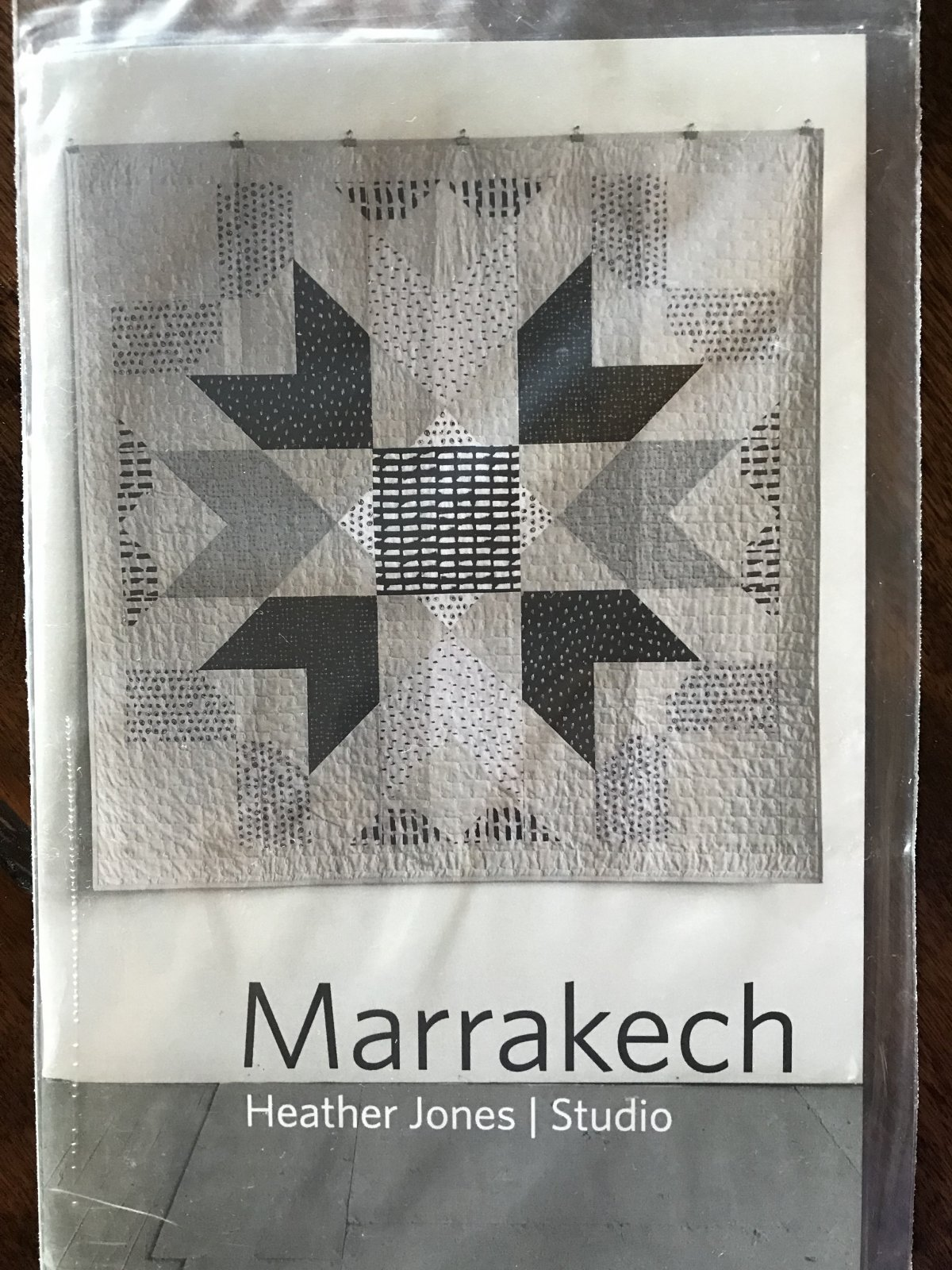 Pattern-Marrakech Quilt