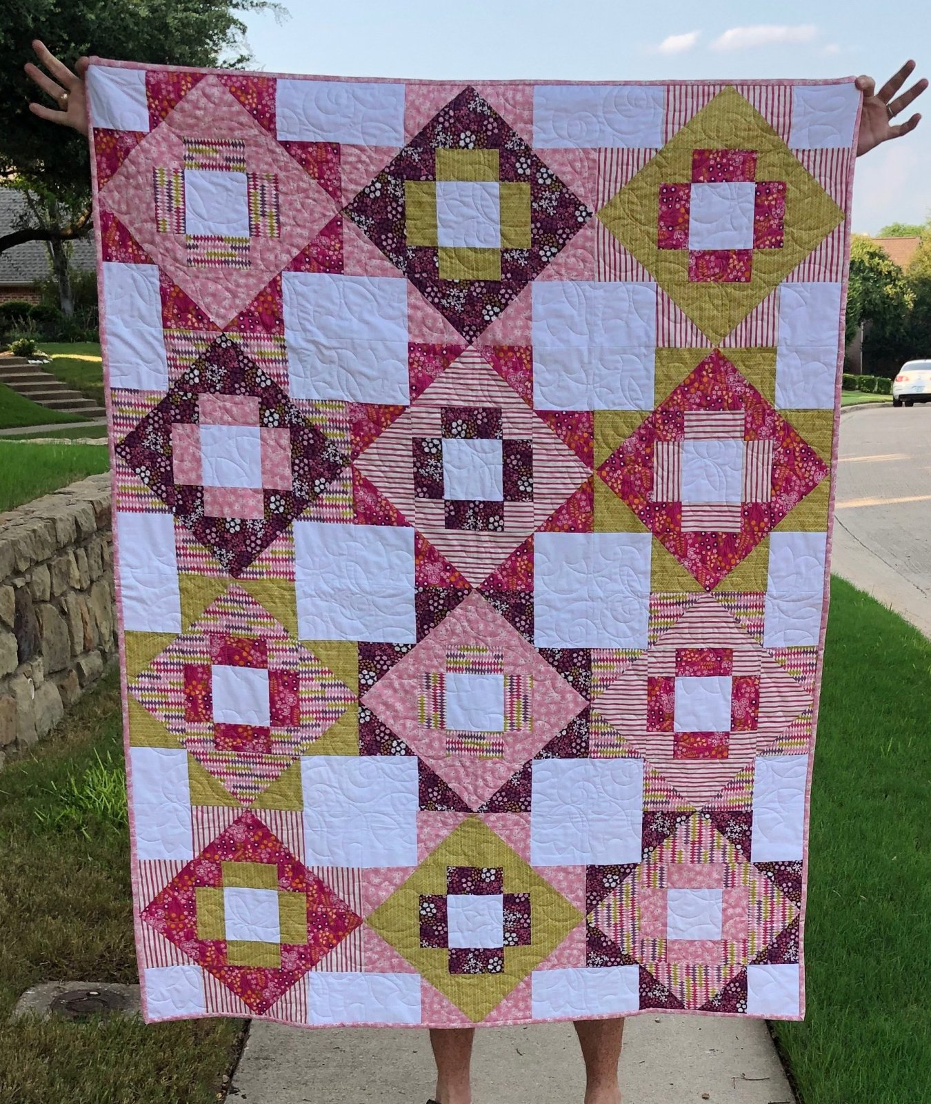 Meadowland Quilt Kit (excludes Binding and Backing)