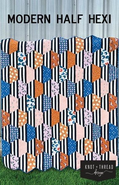 Pattern-Modern Half Hexi