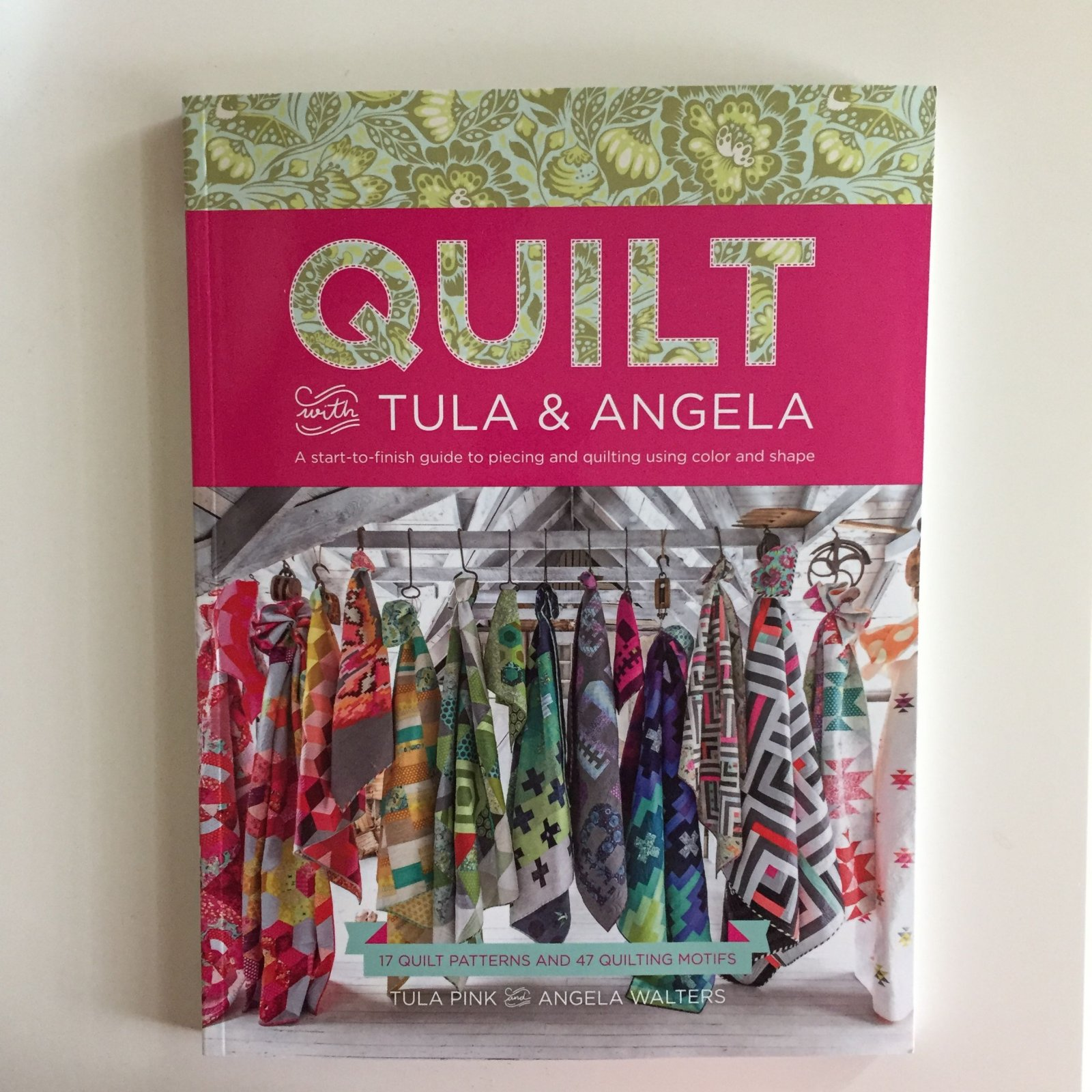 Book-Quilt with Tula & Angela