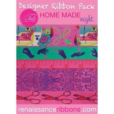 Tula Pink - Homemade - Designer Ribbon Pack - Night