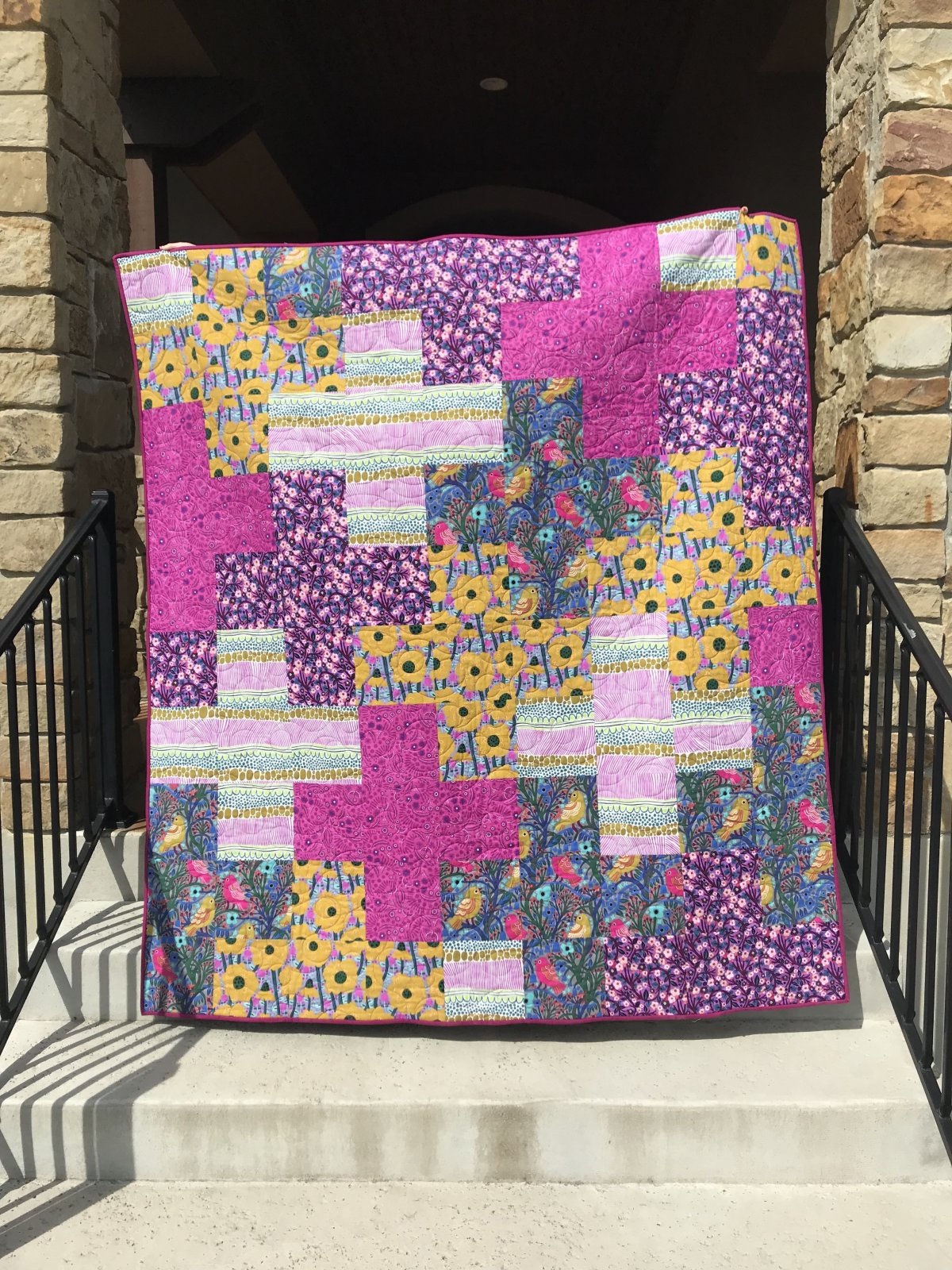 Arithmetic Quilt Kit (excludes Binding and Backing)