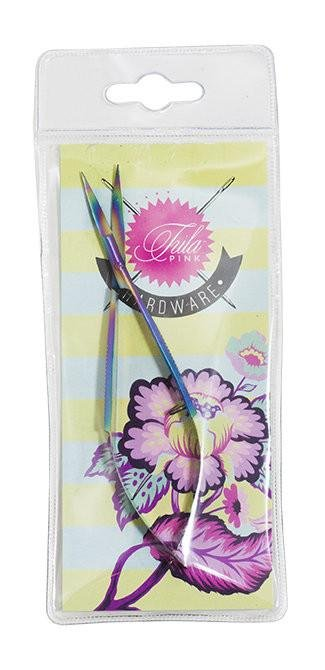 Scissors - Tula Pink Hardware Collection - 5 Curved EZ Snip