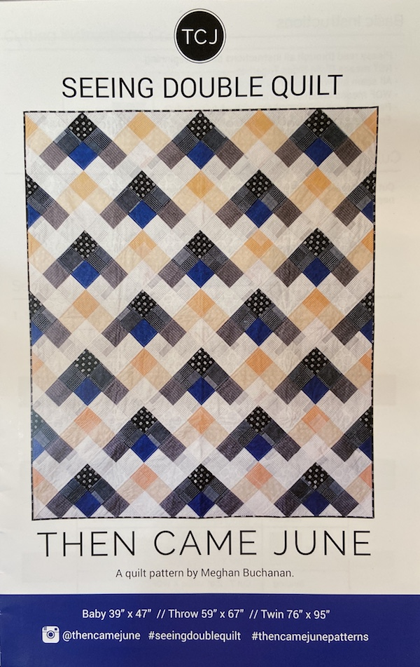 Pattern-Seeing Double Quilt