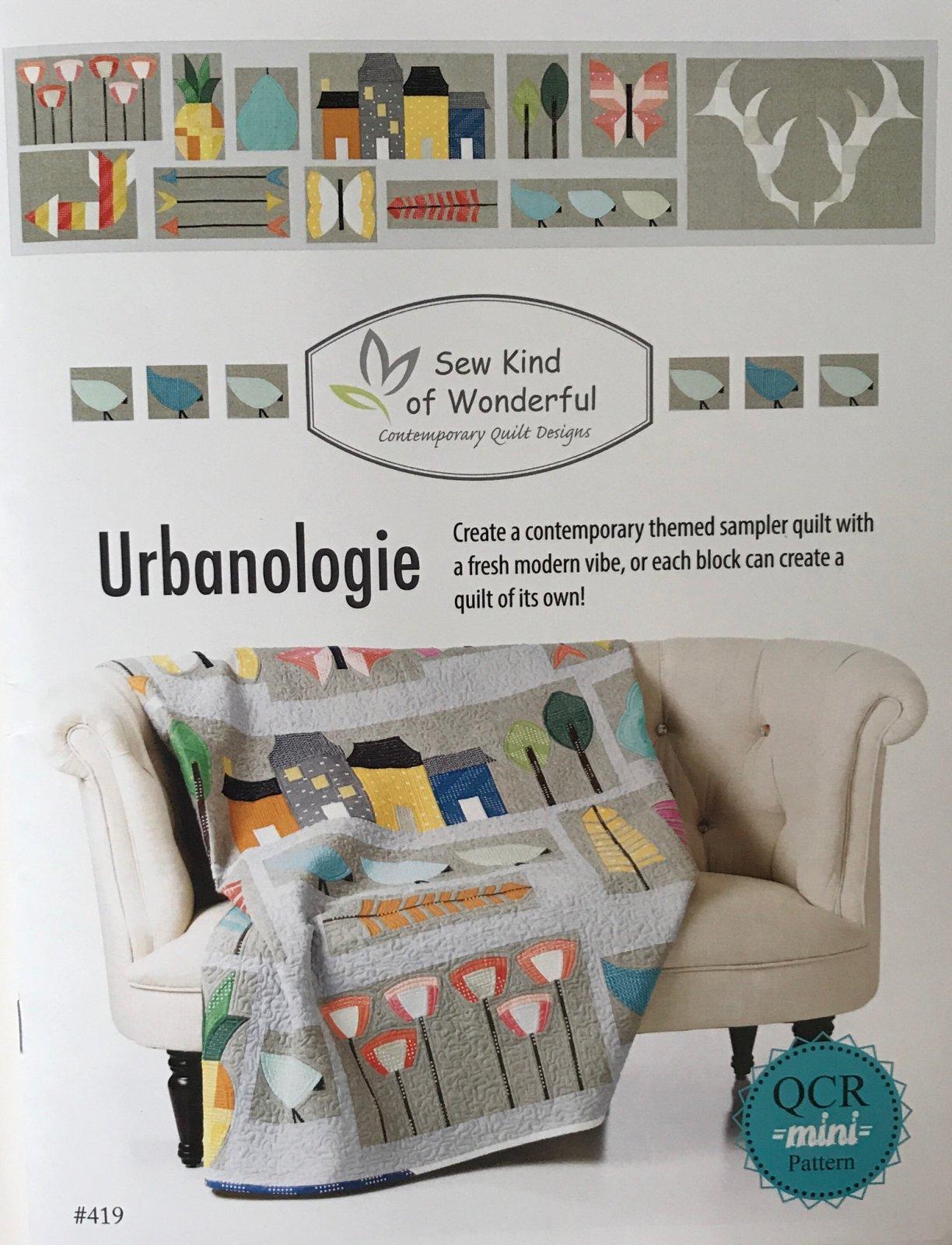 Pattern-Urbanologie Quilt Pattern (Booklet)