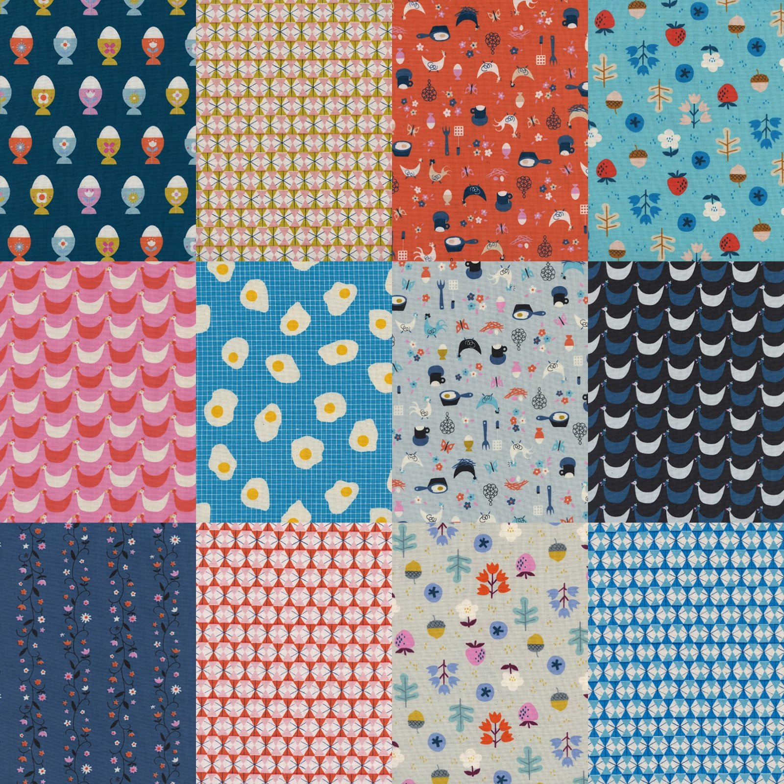 Welsummer - 1/2 Yard Bundle (12 pc.)