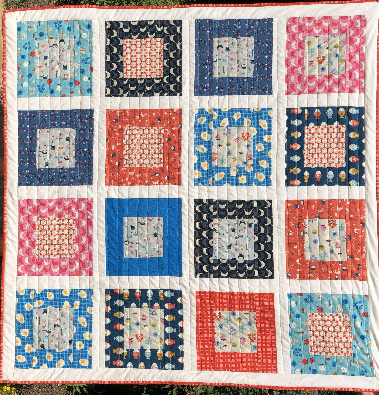 Welsummer Quilt Kit (excludes Binding and Backing)