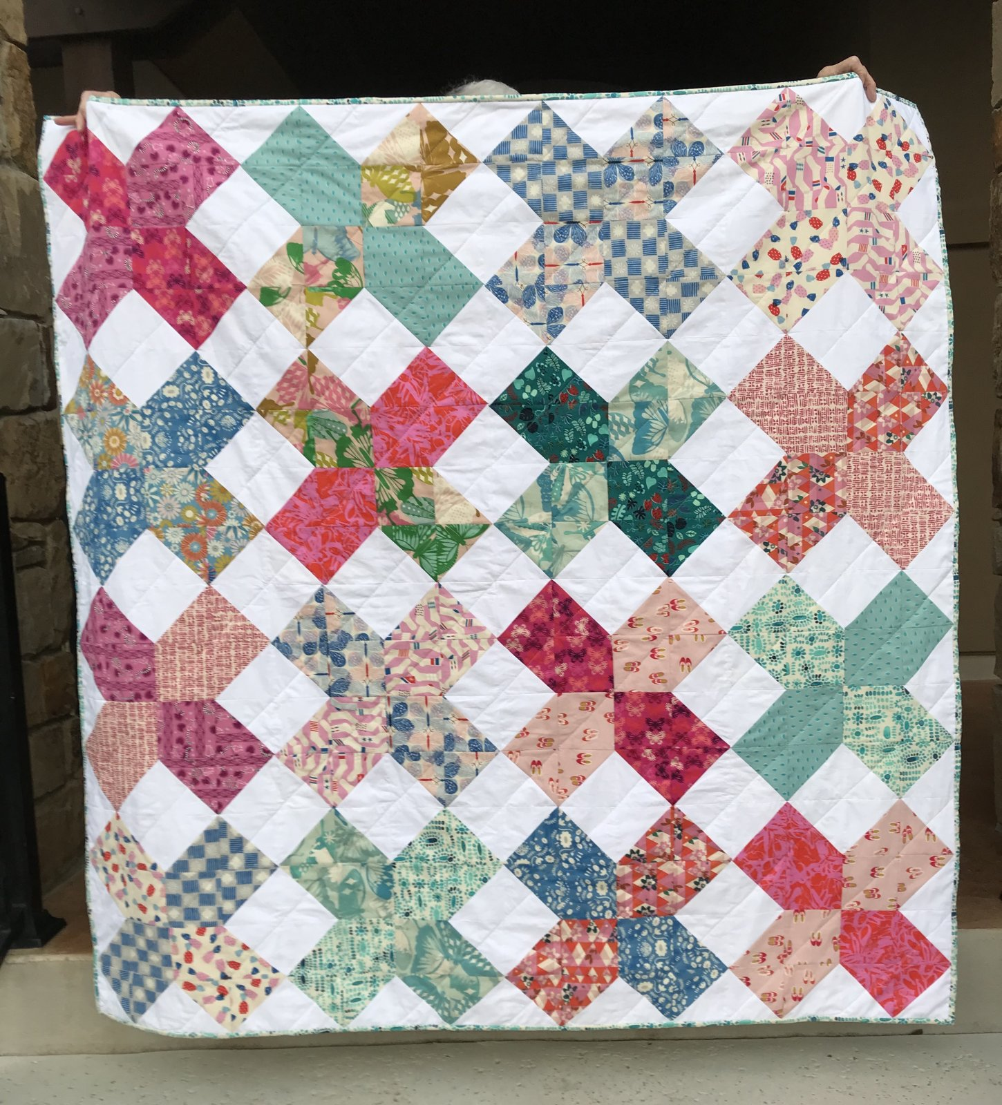 XOXO Quilt Kit (excludes Binding and Backing)