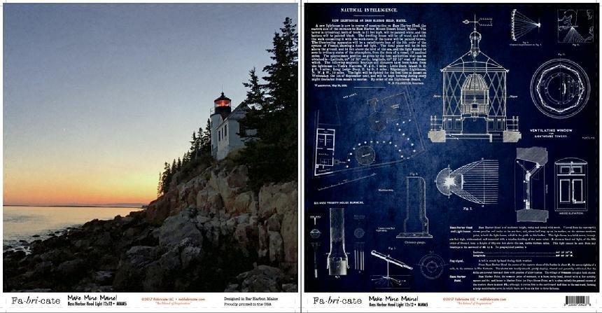 Make Mine Maine: Bass Harbor Head Light paper
