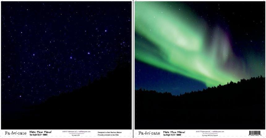 Make Mine Maine: Star Bright paper