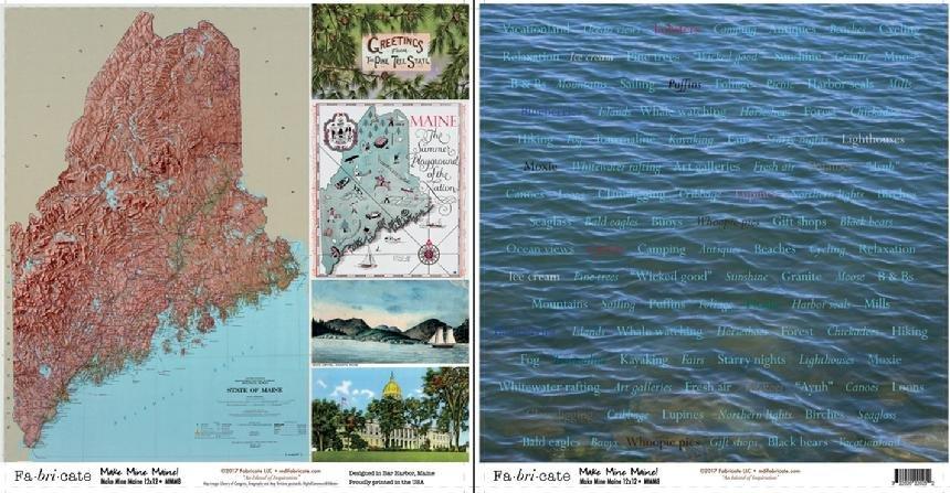 Make Mine Maine: Make Mine Maine paper