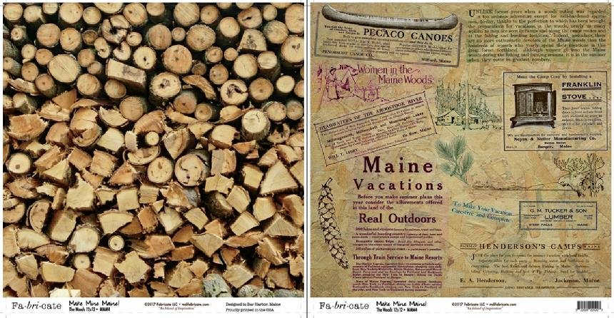 Make Mine Maine: The Woods paper