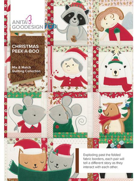 Anita Goodesign Mix&Match Christmas Peek-A-Boo