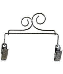 Double Scroll Clip Hanger