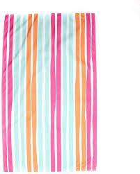 TRS Aruba Stripe Giant Beach Towel Pink/Orange/Aruba Blue