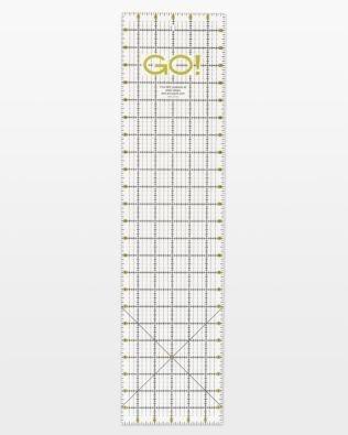 AccuQuilt Go! Quilting Ruler- 6X24