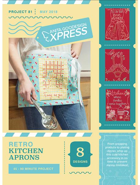 Anita Goodesign Express Retro Kitchen Aprons