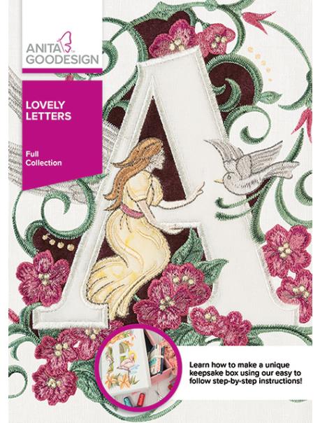 Anita Goodesign Full Lovely Letters