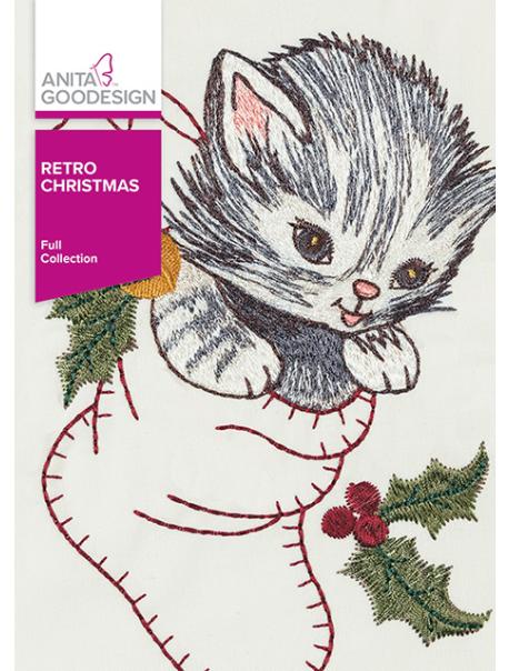 Anita Goodesign Full Retro Christmas