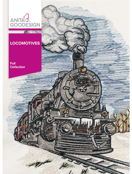 Anita Goodesign Full Locomotives