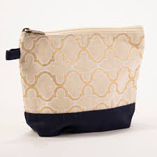 TRS Cayman Glamour Cosmetic Bag Turquoise/Gold