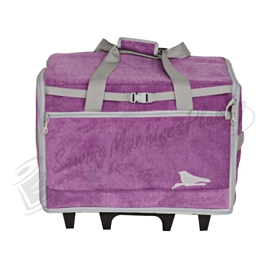 Blue Fig DS Designer Series 26 Wheeled Bag Blossom